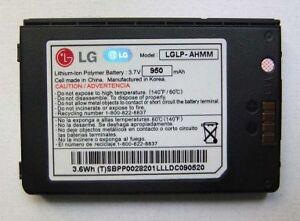 Batterie D'ORIGINE LG LP-AHMM VX9200 enV3 3,7V 950mAh