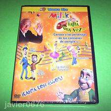 MILIKI PRESENTA HABIA UNA VEZ... DVD NUEVO Y PRECINTADO