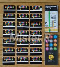 Mta 2nd Avenue Subway - Commemorative Map, Brochure & MetroCard Set - Nyct - Q