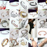 Fashion Charm Women Stainless Steel Lots Style Cuff Open Bracelet Bangle Jewelry