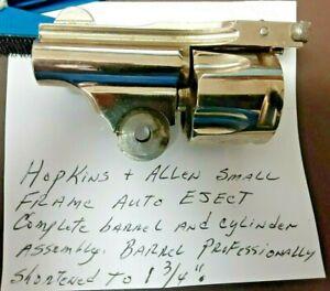 Hopkins & Allen Complete Barrel & Cylinder Assembly, .32 S&W 5-Shot- Please Read