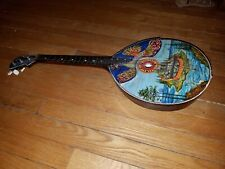 Original Folk Instrument Balalaika dorma uke 3 string hand painted guitar