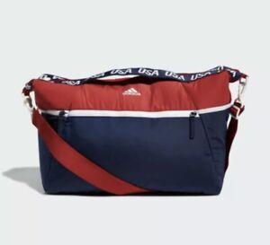 NWT Adidas USA Volleyball Studio III Large Duffel Bag $75