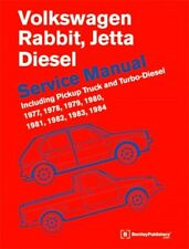 VW Jetta Rabbit Diesel Bentley #VRD4 Print Service Manual 77 - 84 LATEST EDITION