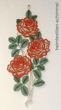 Plauener punta finestra Immagine Primavera Estate Fiori Rose Decorazione Finestra Decorazione
