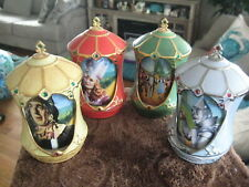 Group of 4 Ardleigh Elliott Wizard Of Oz Revolving Music Boxes all Different