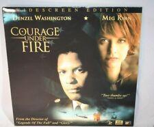 Laserdisc {a} *Courage Under Fire* Denzel Washington Meg Ryan THX AC-3 Widesceen