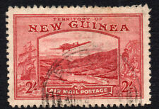 New Guinea 2/-  Air Mail Stamp c1939 Used (1431)