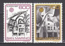SAN MARINO 1987 Europa Unita cmpl 2 v. **