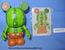 "Disney Vinylmation 3"" Urban Series #6 Cactus With Card"