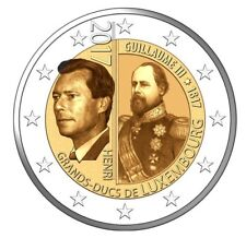 LUXEMBOURG 2 S//C 200º Aniv du naissance du Grand Duc Guillaume III