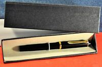 """Pelikan""  M100 Black/GT 14k Gold aftermarked nib  German Fountain pen c.1985's"