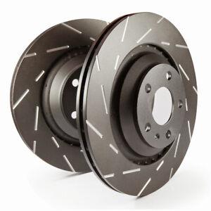 EBC Bremsscheiben Black Dash Vorne für Nissan 350Z (Z33) USR7120 B-Ware