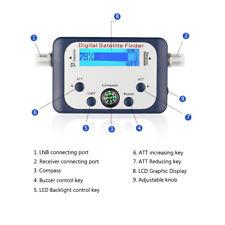GSF-9506 Digital Satfinder Satellite Finder Sat Signal Meter Tester LCD Display