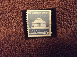 """1973 """" We Hold These Truths..."""" United State 10 Cent Stamp"""
