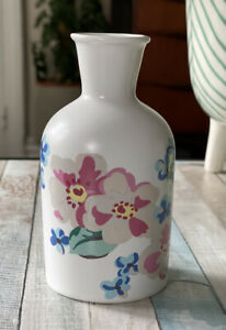 Cath Kidston Scattered Meadowfield Small Vase Ceramic Floral 12cm - Brand New