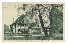 nancy , maison alsacienne (parc ste-marie)