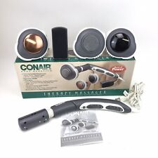 Conair Body Benefits Therapy Massager w/ 4 Interchangeable Heads Heat Used