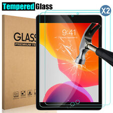 Tempered Glass Screen Protector For iPad 10.2 9.7 7th 5th 6th Air Pro Mini 3/4/5