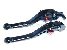 SUZUKI  600 650 250 BANDIT SHORT BLACK BRAKE CLUTCH LEVERS ROAD RACE R13A4