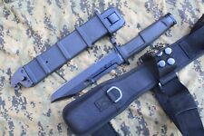 Bayonet Tactical Survival Combat Fighting Knife- Italian forces Style