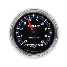 "Auto Meter Boost/Pyrometer Gauge 6144-M; Cobalt 0 to 900°C 2-1/16"" Electrical"
