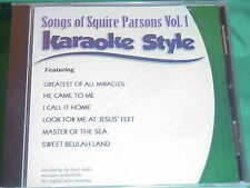 Squire Parsons ~ Christian~Daywind~Karaoke Style ~~ Master of the Sea ~~ CD+G