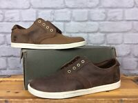 TIMBERLAND MENS UK 8.5 EU 43 FULK LP OXFORD BROWN LEATHER SHOES RRP £90