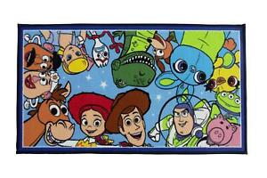 Toy Story 4 'Jumble' Rug 50 x 90 cm Bedroom Rug Matches Bedding