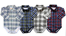 Baby Body Hemd Bodyhemd Langarm NEU Junge Gr. 62,68,74,80,86,92