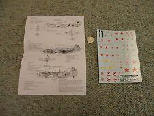 Decals Carpena  decals 1/72 72-51 Normandie Niemen 1941-44     M157