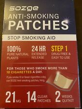 Anti Smoking Patches New In Box! Step 1! New!