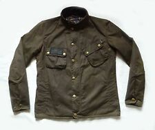 "STUNNING BARBOUR "" VENTNOR "" WAX JACKET - MEDIUM - MOTORCYCLE - RARE £295 NEW"