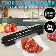 Food Vacuum Sealer Saver Storage Kitchen Machine Packaging Preservation