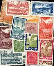 Guyane Française - French Guiana 50 timbres différents