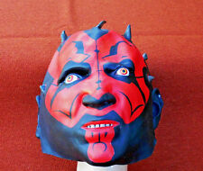 DELUXE DARTH MAUL MASK RUBBER REAL LOOKING STAR WARS HALLOWEEN MASK CHILD SIZE