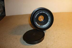 Super M42 Objektiv - lens Carl Zeiss Jena Tessar 2,8/50 - Adlerauge !