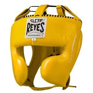 Cleto Reyes Kopfschutz Boxen Kopfschutz Guard Wange Schutz Gelb Sparring