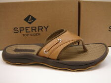 SPERRY TOP SIDER MENS SANDALS OUTER BANKS THONG TAN SIZE 8