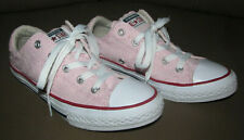 Converse All Star Low Pink Shoes Girl's Youth Junior Size 2