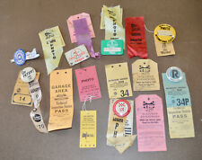 Vintage Lot PHOTO Press Passes Air Races Laguna Seca Sears Point Nascar 60s 70s