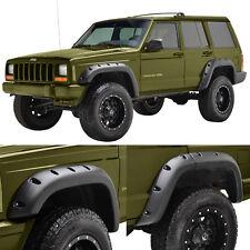 84-95 Jeep Cherokee XJ Sport Utility Pocket Rivet Style Fender Flares 6pcs/Set