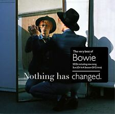 David Bowie  Nothing Has Changed SEALED 2 CD BEST OF SENT1ST CLASS POST FREE(UK)