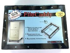 Steel Works Commercial File Caddy Size File Cabinets 18'' 22'' 25'' & 18'' Deep