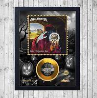 HELLOWEEN KEEPER PART 1 CUADRO CON GOLD O PLATINUM CD EDICION LIMITADA. FRAMED