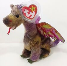 "TY Beanie Baby ""SCORCH"" the DRAGON - MWMTs! PERFECT GIFT! CHECK OUT MY BEANIES!"