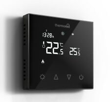 Thermotouch 5226W WiFi Programmable Underfloor Heating Thermostat, Black