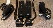2x Nintendo Wii Controller with nunchuck and motion plus! Tested WORKING!