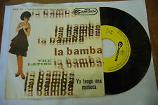 "THE LATINS""LA BAMBA-disco 45 giri CAMDEM It 1964"" Latin Italy"