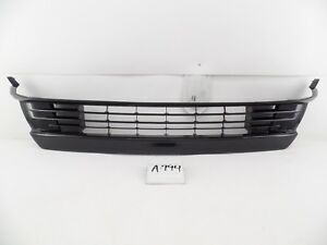 OEM USED GRILLE GRILL TOYOTA PRIUS PLUG-IN LOWER BUMPER 12-15 snap clips bent